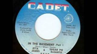 Etta James & Sugar Pie DeSanto - In the Basement (with lyrics)