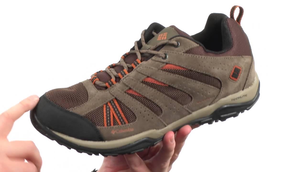 Columbia Mens North Plains Drifter Waterproof Hiking Shoe  31CK9QCNL