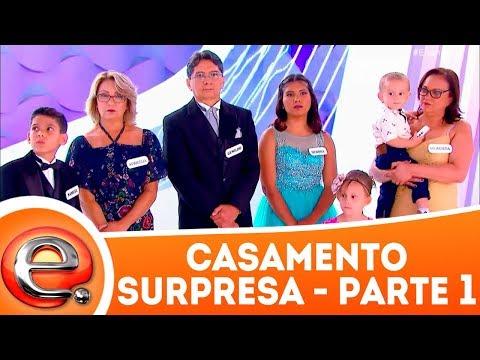 Casamento Surpresa - Parte 1 | Programa Eliana (11/03/18)