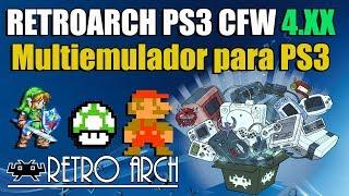 RetroArch PS3 CFW 4 82 MultiEMULADOR - Sirve para cualquier CFW
