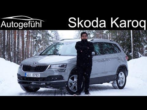 Skoda Karoq FULL REVIEW AWD test - Autogefühl