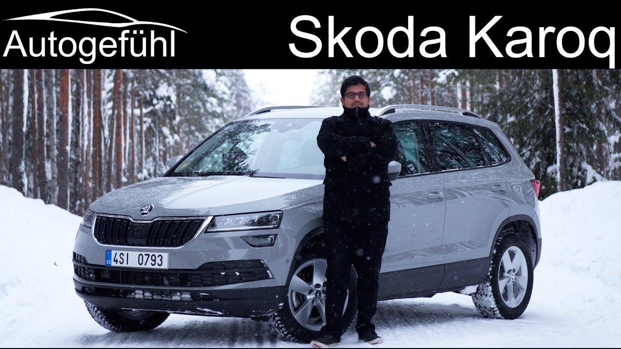 Skoda Karoq FULL REVIEW AWD test - Autogefühl - Dauer: 49 Minuten