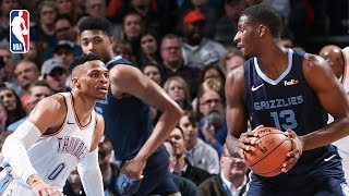 Full Game Recap: Grizzlies vs Thunder | Russ Records Triple-Double For 8th Straight Game