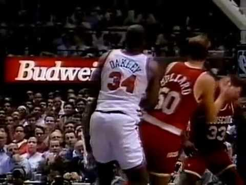 NBA on NBC - 1994 NBA Finals Game 5 Intro - Rockets vs Knicks