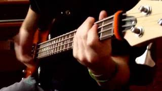 Red Hot Chilli Peppers - COFFEE SHOP (bass cover)
