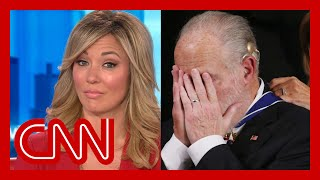 Brooke Baldwin reacts to Trump honoring Rush Limbaugh