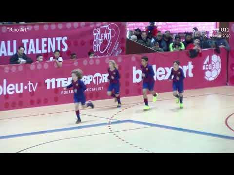 Barcelona vs Ajax Uhilas Talent Cup U11 Feb.2020