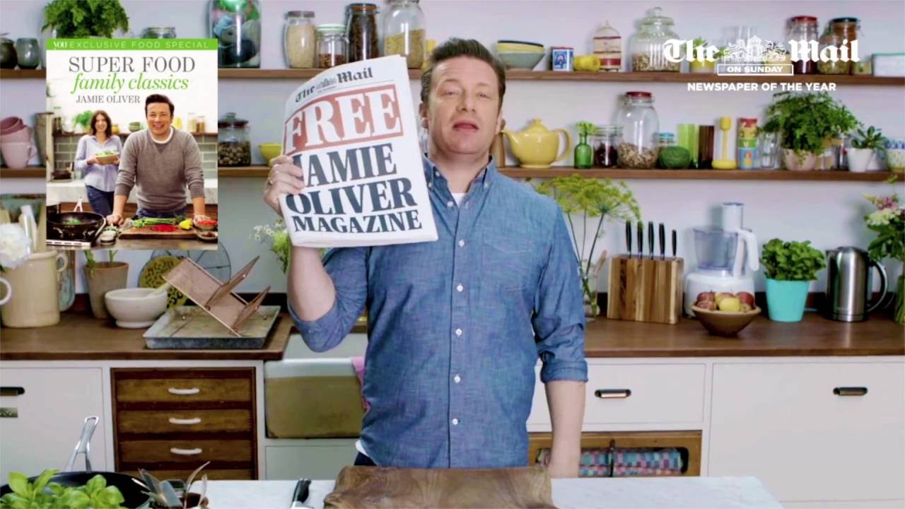 Jamie oliver super food family classics magazine free inside the jamie oliver super food family classics magazine free inside the mail on sunday forumfinder Gallery