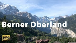 Wengen Im Berner Oberland In 4k