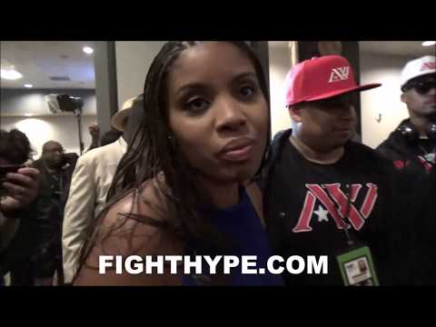 ANDRE WARD'S WIFE, TIFFINEY, IMMEDIATE REACTION TO HUSBAND'S KO OF KOVALEV & JUMPING TO HEAVYWEIGHT