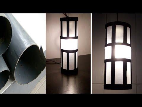 Bisnis Menjanjikan Lampu Hias Gantung Paralon Pvc Bekas || DIY Decorative Hanging Lamps from PVC