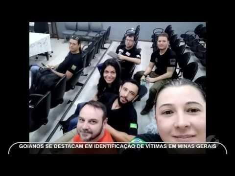 JMD (20/02/19) - Goianos se destacam na identificação de vítimas de Brumadinho