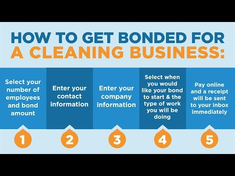 How To Get A Cleaning Business Bonded with SuretyBonds.com