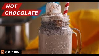 Hot Chocolate with Marshmallows | Easy Chocolate Drink | Best Hot Chocolate Recipe