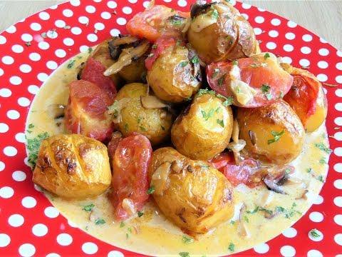 mladi krompirici meso nije potrebno brzo i lako
