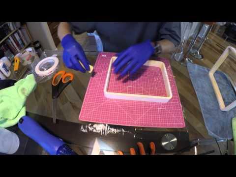 How to Make a Tape Flex Vat for a DLP or Laser SLA Resin Printer