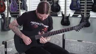 ESP Guitars: LTD Black Metal Series Demo