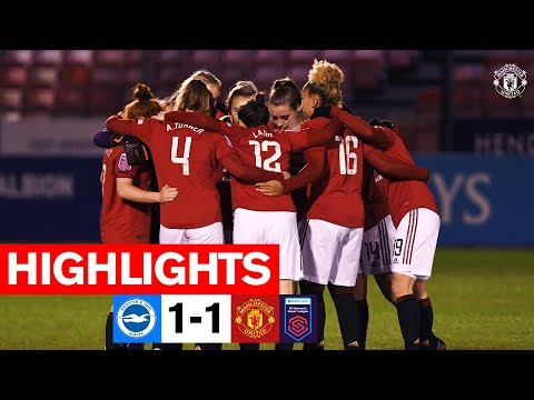Women's Highlights | Brighton 1-1 Manchester United | FA Women's Super League