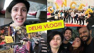 DELHI VLOG! Sarojini Nagar, Meetup & More!!!