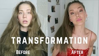 my transformation from a 2 to maybe a 7.5 in 24 hours