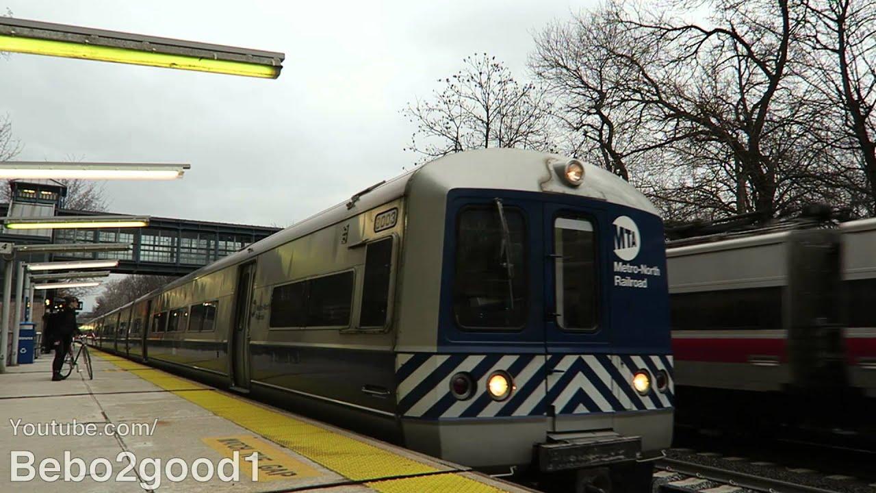 Metro North Railroad Pm Trains At Ny Botanical Garden Ny Rr Youtube