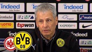 Mit Remis Vorsprung ausgebaut | PK mit Lucien Favre |Frankfurt - BVB 1:1