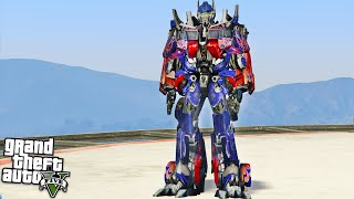 TRANSFORMERS OPTIMUS PRIME!!! (GTA 5 Mods)(GTA 5 Funny Moments playing GTA 5 with the optimus prime Mod! Enjoy GTA 5 Mods, GTA 5 Stunts, GTA 5 Videos & more? You Need to SUBSCRIBE!, 2016-03-14T22:00:01.000Z)