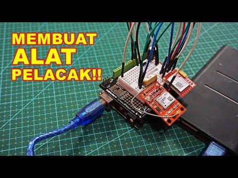 Membuat Alat Pelacak Lokasi GPS Tracker VLOG115
