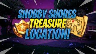 *NEW* Snobby Shores Secret TREASURE! | Fortnite: Battle Royale!