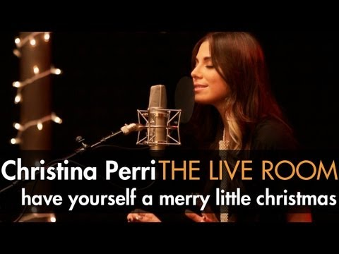 """Christina Perri - """"Have Yourself A Merry Little Christmas"""" captured in The Live Room"""