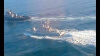 Надо #башить нах#й! Переговоры командования ВМС РФ с экипажами кораблей ФСБ