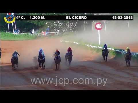18/03/2018 - Hipódromo Asunción - Carrera 4