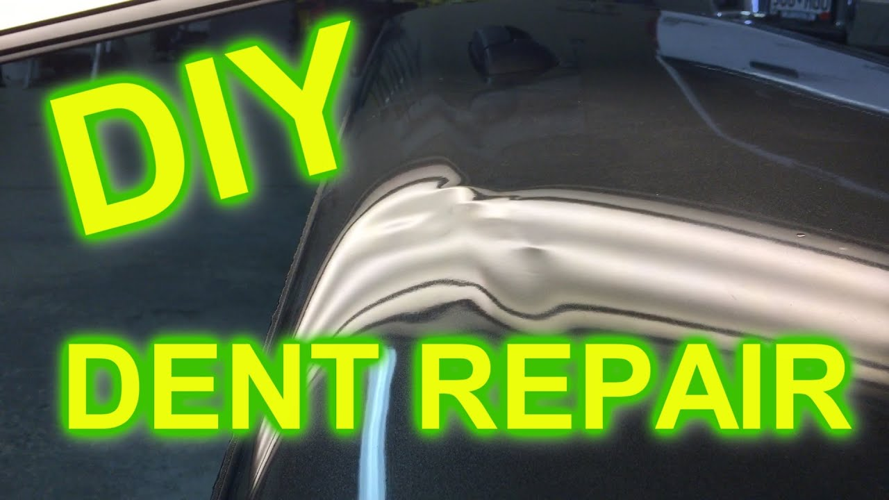 Diy dent removal can i repair a dent myself youtube solutioingenieria Gallery