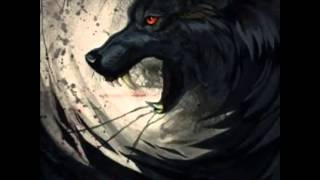 Anime wolves. -we will rock you-