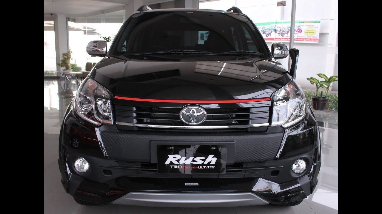 2019 Toyota Rush Price Interior Review Specs Youtube