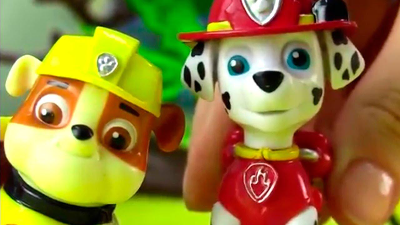 Смотреть мультики щенячий патруль про игрушки