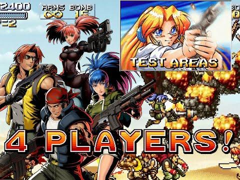 4 Players! - Metal Slug SB Fanthology 0.3 /Test Areas |