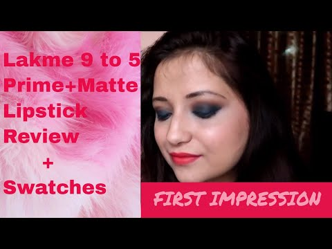 lakme-9to5-prime+matte-lipstick-|-review+swatches