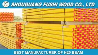 Formwork H20 Timber Beam (h20 Wood Beam, I Joist, I Beam, Wood H Beam, Wood Girder)