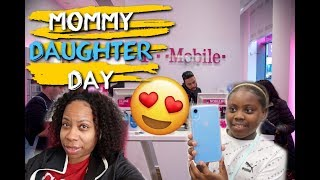Mommy & Daughter Day + She Get A New Iphone XR | Family Vlogs | JaVlogs