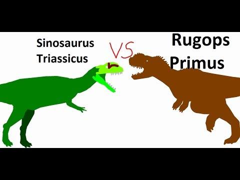 BRS4 Rugops Vs Sinosaurus