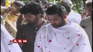 Nandamuri Harikrishna Last Rites | Jr NTR | Kalyan Ram | ABN Telugu