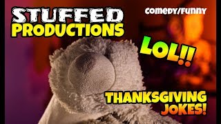 Thanksgiving Jokes Read By A Polar Bear! - Funny Jokes Video - Thanksgiving 2018