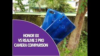 Honor 8X vs Realme 2 Pro Camera Comparison