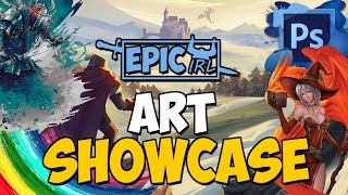 TheLazyPeon Art Showcase (EpicIRL Design Submissions)