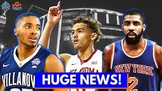 Kyrie Irving Knicks Rumors! 🔥| HUGE Knicks Draft News | Live Stream Replay 6.9.18
