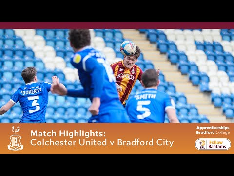 Colchester Bradford Goals And Highlights