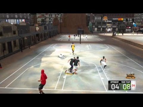 NBA 2K20 Disrespectful Knock Down Posterizer Dunk In Dodgeball Rodeo Park
