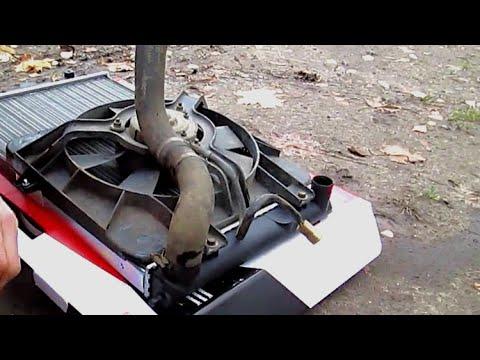 Как заменить радиатор охлаждения на ваз 2110
