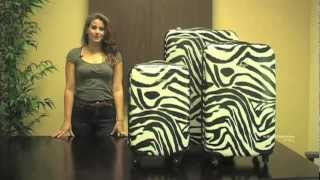 Rockland F195 3-Piece Lightweight Hardside Spinner Luggage Set Thumbnail